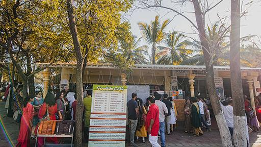 facilities at art of living ashram